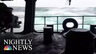 Rescuers Race Against Time To Find Missing Submarine | NBC Nightly News - NBCNEWS