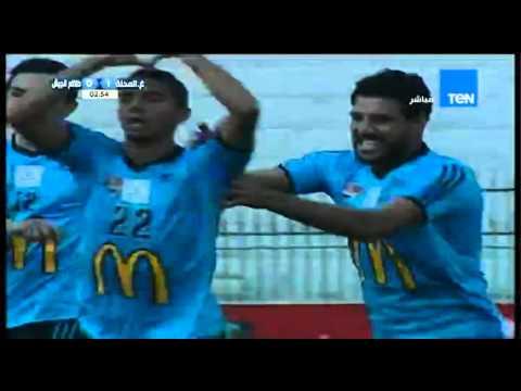 أهداف مباراة غزل المحلة و طلائع الجيش 1-1 الدوري الممتاز 2015-2016