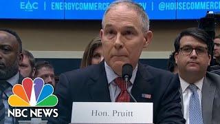 EPA Chief Scott Pruitt Grilled On Authorization Of Raises | NBC News - NBCNEWS