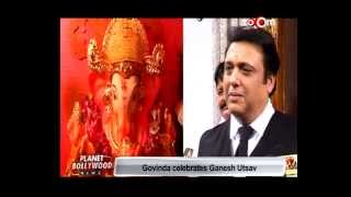 Govinda celebrates Ganesh Festival - EXCLUSIVE