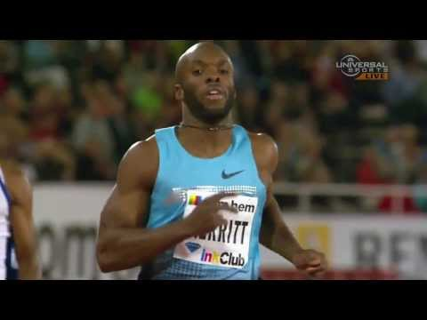 Lashawn Merritt wins 400m in Stockholm - Universal Sports