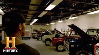 Detroit Steel: Bonus - Bronco Graveyard | History - HISTORYCHANNEL