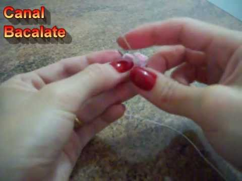Como fazer MINI Flor de fuxico  - Artesanato