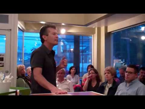 Dr. Tel-Oren (Dr. T) speaks at Catch A Healthy Habit Cafe on Alk.vs Acid - ד