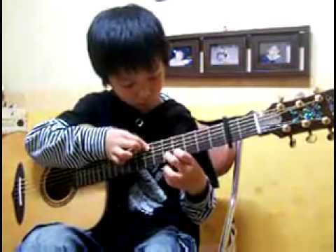 Canon in D - Sungha Jung (2nd time) -nKum92uxZ1Q