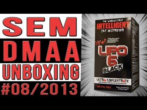 LIPO6 BLACK - COMO SABER SE TEM DMAA ?