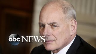 John Kelly set to leave the White House - ABCNEWS