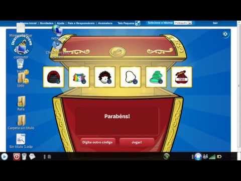 3 codigos reutilizables de Club Penguin de ropa y puffles