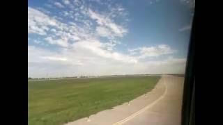 Посадка самолета Boeing 737-800 AzurAir в Харькове (рейс Анталия-Харьков)