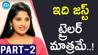 TV Artist Meghana Exclusive Interview - Part #2 || Soap Stars With Anitha - IDREAMMOVIES