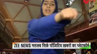 Deshhit: Watch how these girls from Kashmir undergo self-defence training - ZEENEWS