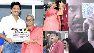 Nagarjuna RGV new movie launch || #NagRGV4 || #Nagarjuna || #RamGopalVarma - IGTELUGU