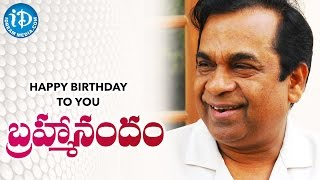 Brahmanandam Birthday Special Video || Happy Birthday Wishes From iDream Media - IDREAMMOVIES