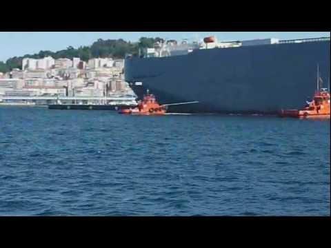 Película del cochero RO/RO japones GEORGIA HIGHWAY partiendo de Vigo