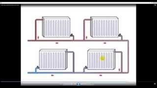 Ленинградка отопление. Схема однотрубной системы отопления.
