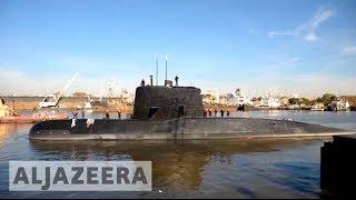 Signals detected from Argentina's missing submarine - ALJAZEERAENGLISH