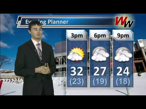 Wednesday, December 11th Afternoon Forecast