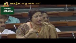 BJP MP Meenakshi Lekhi Raises Issue of The Bofors Scandal | Lok Sabha | Mango News - MANGONEWS
