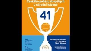 Finále 41. ročníku Českého poháru - Plzeň 2015