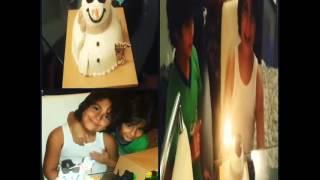 ديمة بياعة تحتفل بعيد ميلاد ابنها ورد.. بالفيديو
