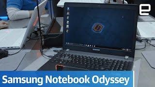 Samsung Notebook Odyssey: Hands-on