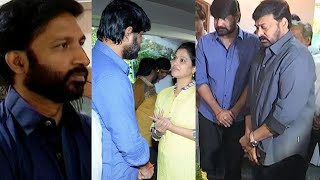 Celebrities Pay Homage to Srikanth Father | Chiranjeevi Tottempudi Gopichand Allu Arvind | TFPC - TFPC