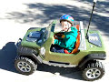 Modified Power Wheels Jeep Hurricane 24v With Worried Mom