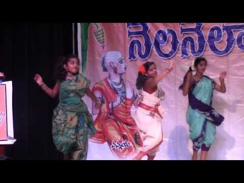 Folk Dance Choreographed by Shanthi Nuthi, Roopa Banda at NNTV 7th Anniversary