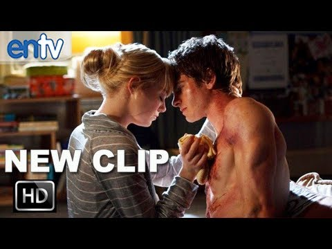 "The Amazing Spider Man ""I Created Him"" Clip: Andrew Garfield & Emma Stone Get Intimate"