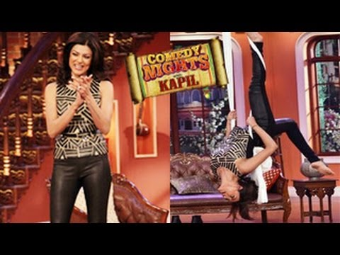 Sushmita Sen's SEXY LOOK on Kapil Sharma's Comedy Nights With Kapil 19th April 2014