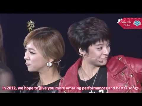 [HeartfxSubs] 120119 jTBC Golden Disk Awards Bonsang Award - f(x)
