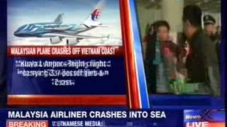 Malaysia Airlines crashes into sea - NEWSXLIVE
