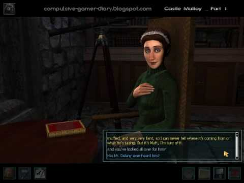 Nancy Drew The Haunting of Castle Malloy (Part 1)