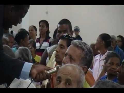 Pastor Jorge Silva    Revelacões,Milagres e Testemunhos Filmado na IPDA