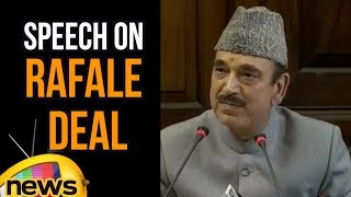 Ghulam Nabi Azad's Speech On Rafale Deal | Rafale Jets Deal | Mango News - MANGONEWS