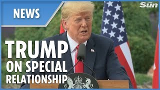 "Trump: UK relationship is ""highest level of special"" - THESUNNEWSPAPER"