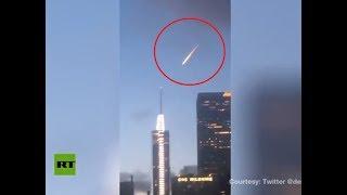 Aliens invade LA? О_о ... SPOILER: This is NOT meteor - RUSSIATODAY