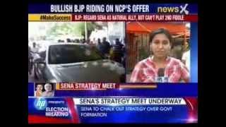 Shiv Sena dares BJP to accept NCP offer - NEWSXLIVE