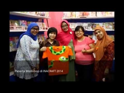 Workshop Kerajinan Flanel INACRAFT 2014