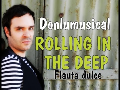 TUTORIAL FLAUTA DULCE ROLLING IN THE DEEP