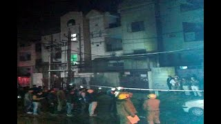 In Graphics: india news/17 dead in blaze at firecracker storage unit in delhis bawana - ABPNEWSTV