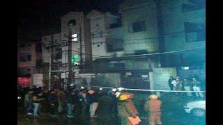 In Graphics: india news/17 dead in blaze at firecracker storage unit in delhis bawana - ABPNEWSTV