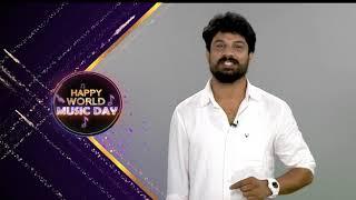 Dhanunjay Wishes All A Very Happy #WorldMusicDay - MAAMUSIC