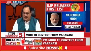 Lok Sabha Elections 2019: BJP First List Of Candidates, PM Narendra Modi To Contest From Varanasi - NEWSXLIVE