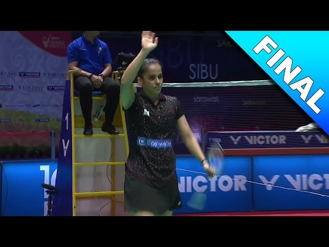 Far East Malaysia Masters 2017 | F | Saina Nehwal vs Pornpawee Chochuwong [HD]