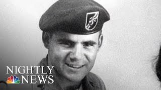Vietnam War Medic Receives Medal Of Honor | NBC Nightly News - NBCNEWS
