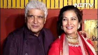 Javed Akhtar & Shabana Azmi's Diwali Party - NDTV