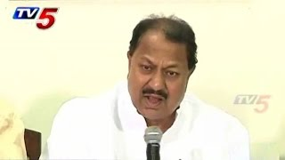 D.Srinivas Comments on KCR : TV5 News - TV5NEWSCHANNEL