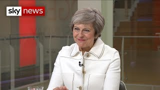 PM tells Sky News: 'I've never thought of giving up' - SKYNEWS