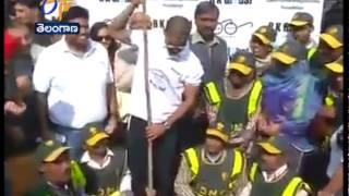 Cricketers Suresh Raina, Shikhar Dhawan Joins 'Swachh Bharat Abhiyan' - ETV2INDIA